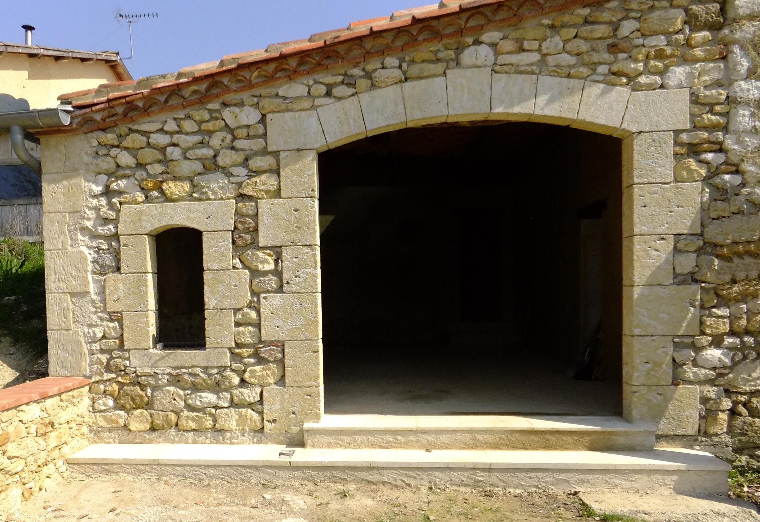 création ouverture pierre Gers - Histoirde de Pierres