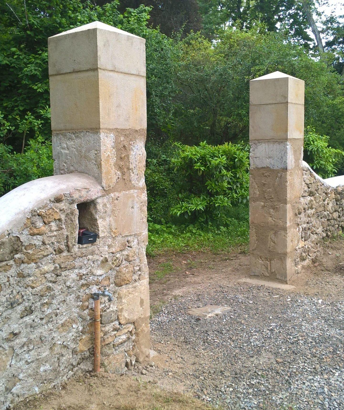 taille de pierre Gers - atelier - sculpture - Histoire de pierres